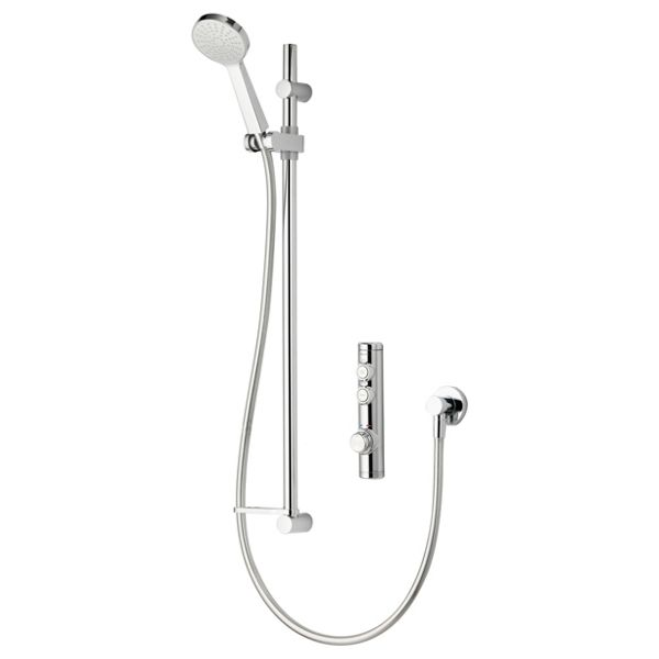 Aqualisa iSystem High Pressure Digital Concealed Shower with Adjustable Head - Combi