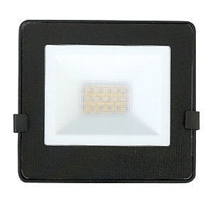 Image of Luceco Eco Floodlight IP65 Black 800 Lumens 10W