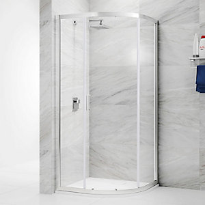 Nexa By Merlyn 6mm Offset Quadrant 1 Door Sliding Shower Enclosure - 1200 X 800mm