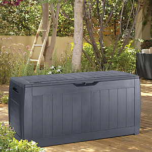 Keter Hollywood Patio Storage Box Anthracite