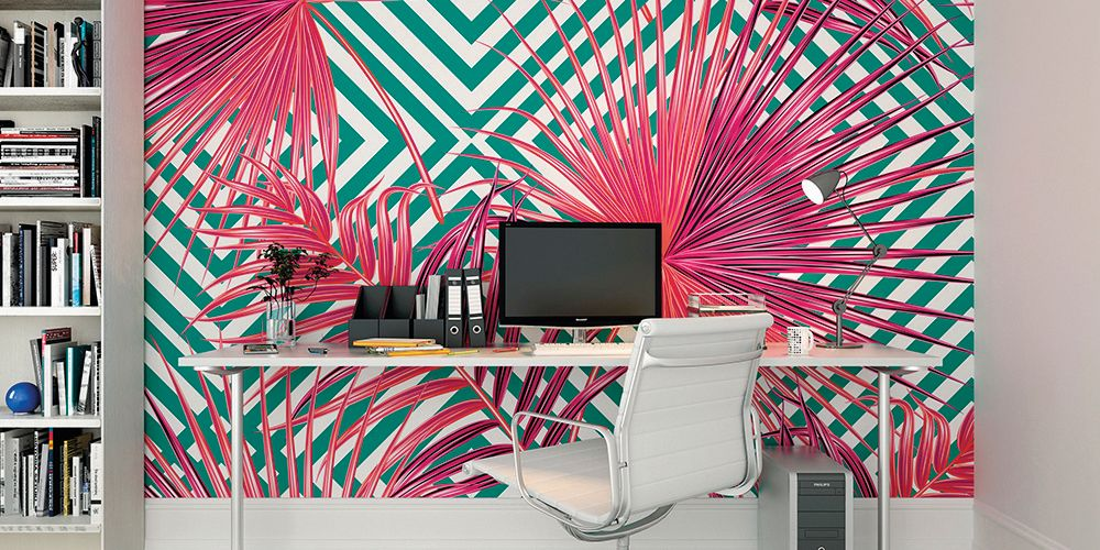 Abstract and geometric murals