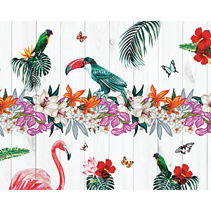 ohpopsi Tropical Birds Of Paradise Wall Mural