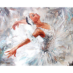 Image of Ballerina Large Wall Mural 3m (Wide) x 2.4m (High)