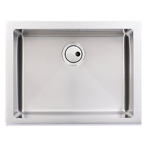 Abode Belfast 1 Bowl Stainless Steel Kitchen Sink