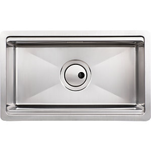 Abode Studio 1 Bowl Stainless Steel Kitchen Sink