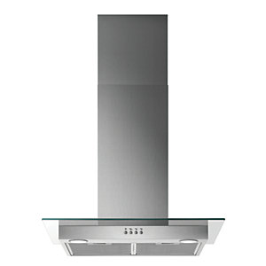 Zanussi 60cm Chimney Hood with Glass ZHC62653XA