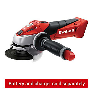 Einhell Power X-Change TE-AG 18V Cordless Angle Grinder 115mm - Bare