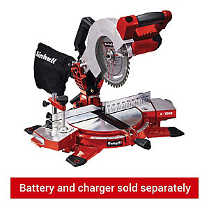 Einhell Power X-Change TE-MS 18/210 Li 18V Cordless Cross Cut Mitre Saw - Bare