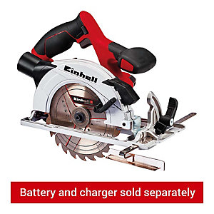 Einhell Power X-Change TE-CS 18/165 Li 18V 165mm Cordless Circular Saw - Bare