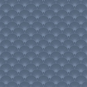 Superfresco Easy Ecailles Gatsby Wallpaper Blue - 10m