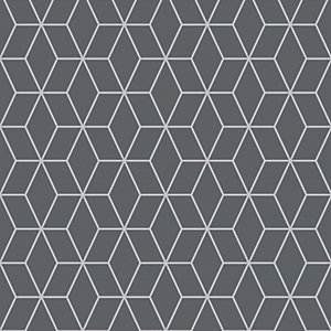 Superfresco Easy Prism Wallpaper Grey - 10m