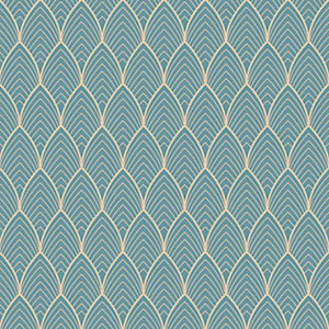 Image of Superfresco Easy Bercy Wallpaper Blue - 10m