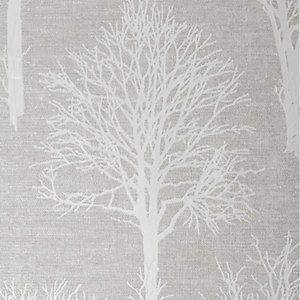 Boutique Landscape Wallpaper Taupe - 10m