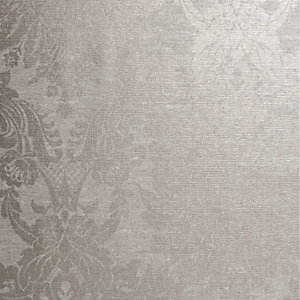 Boutique Vogue Wallpaper Taupe - 10m