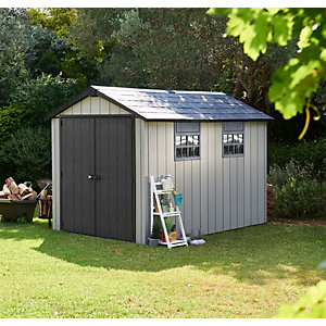 Keter Oakland Plastic Shed 7 x 11 ft Best Price, Cheapest Prices