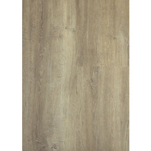 Novocore Grey/Beige Oak Luxury Vinyl Click Flooring Sample