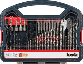 Einhell KWB 62 Piece Combination Drill Bit Set