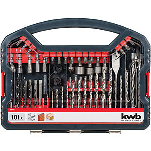 Image of Einhell Kwb 101 Piece Combination Drill Bit Set