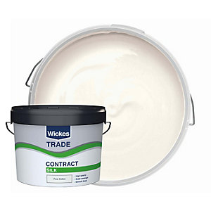 Wickes Trade Contract Silk Emulsion Pure Cotton 10L