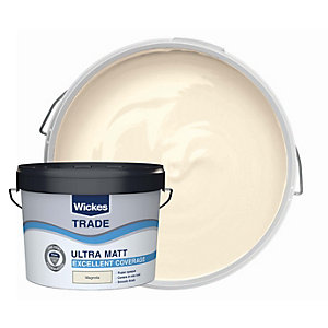 Wickes Trade Ultra Matt Magnolia 10l