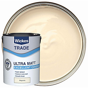 Wickes Trade Ultra Matt Magnolia 5l