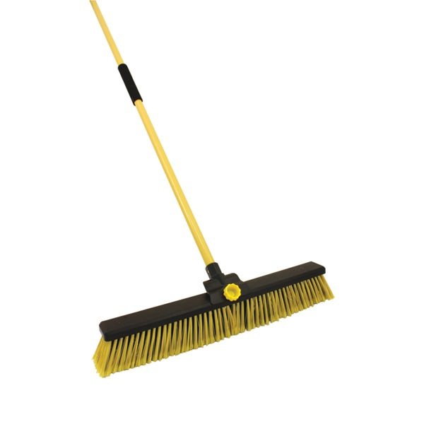 Dual Bristle Heavy Duty Broom - 24in