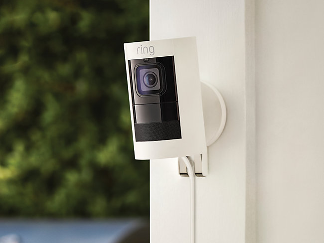 Ring Stick Up Wired Smart Security Cam