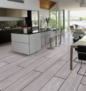 Wood Effect Porcelain Floor Tiles >> Wickes Kielder Light Grey Wood Effect Porcelain Tile 900 X 150mm