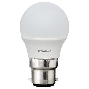 Sylvania LED Frosted B22 Mini-Globe Bulb - 5W Pack of 4