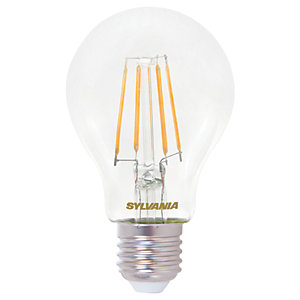 Sylvania LED Filament E14 GLS Bulb - 7W Pack of 4
