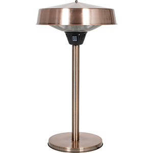 La Hacienda Table Top 18in Outdoor Heater Copper
