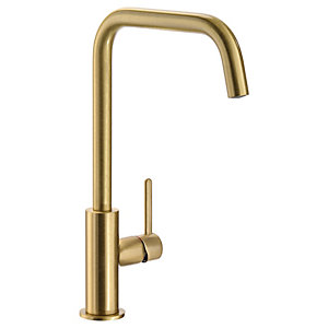 Image of Abode Althia Single Lever Kitchen Tap Brushed Brass