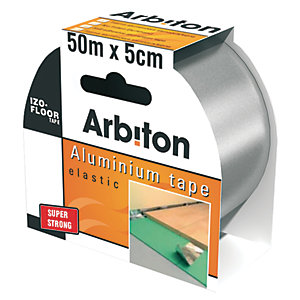 Image of Arbiton Underlay Foil Tape 50mm x 50m