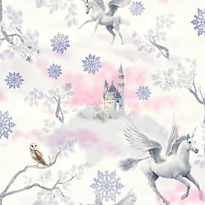 Arthouse Fairytale Lilac Wallpaper 10.05m x 53cm