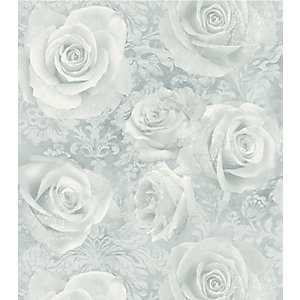 Arthouse Reverie Silver Wallpaper 10.05m x 53cm