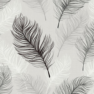 Arthouse Whisper Black & White Wallpaper 10.05m x 53cm