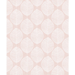 Arthouse Retro Skandi Pink Wallpaper 10.05m x 53cm