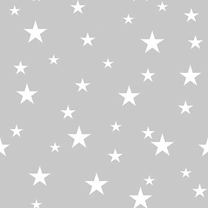 Arthouse Diamond Stars Silver Wallpaper 10.05m x 53cm
