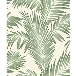Arthouse Tropical Palm Green Wallpaper 10.05m x 53cm