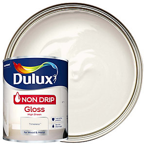 Dulux Non Drip Gloss Timeless Paint 750ml