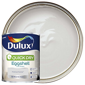 Dulux Quick Dry Eggshell Polished Pebble Paint 750ml