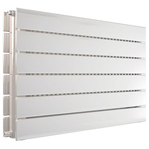Henrad Verona Double Panel Designer Radiator - White 588 x 1200 mm