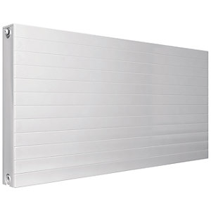 Henrad Everest Single Convector Designer Radiator - White 600 x 400 mm