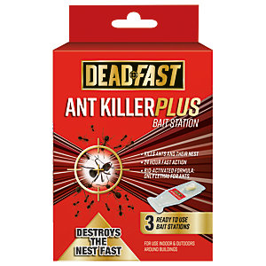 Image of Deadfast Ant Plus Bait Station 3x4g