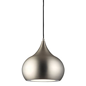 Brosnan Pendant Light Matt Nickel