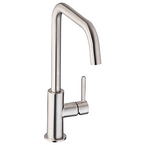 Image of Abode Althia Single Lever Kitchen Tap Brushed Nickel