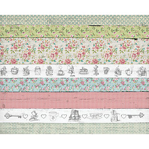 Image of ohpopsi Alice in Wonderland Delight Wall Mural - L 3m (W) x 2.4m (H)