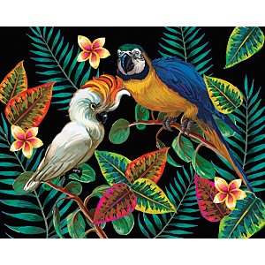 ohpopsi Tropical Birds Wall Mural