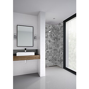 Mermaid Elite Abruzzo Post Form Single Shower Panel 2420 X 1200mm