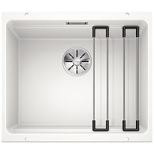 Blanco Etagon 1 Bowl Undermount Kitchen Sink - White